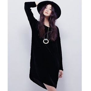Free People CP shades velvet Bridget Dress